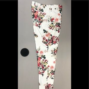 Tommy Hilfiger,pant,lined,off white/print,NWOT